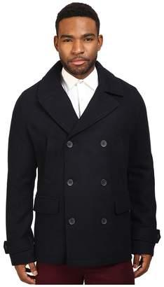 Original Penguin Double Breasted Peacoat Men's Coat