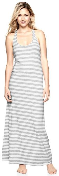Gap Pure Body racer maxi dress