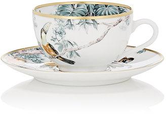 Carnets D'Equateur Tea Cup & Saucer Set