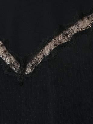 Tufi Duek lace insert blouse