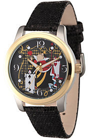 Disney Alice in Wonderland Women's Black Watch $59.99 thestylecure.com