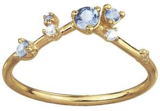 WWAKE Sapphire Diamond Organic Ring