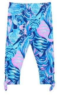 Lilly Pulitzer Little Girls& Girl's Maia Print Leggings