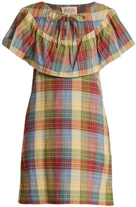 Ace&Jig Clifton checked cotton-blend dress