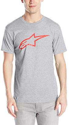 Alpinestars Men's Modern Fit Short Sleeves 146 GSM Logo T-Shirt