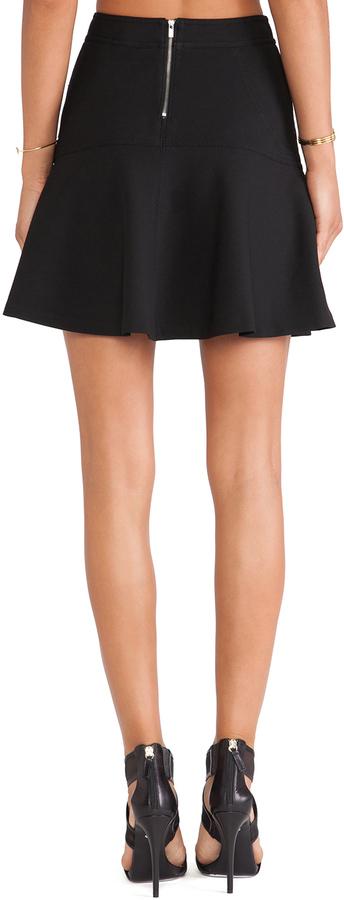 Diane von Furstenberg Flared Mini Skirt
