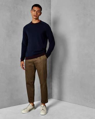 Ted Baker JUSCORN Striped sleeve wool sweater