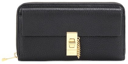 Chloé Chloé Drew Long leather wallet
