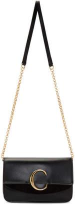 Chloé Black Mini C Chain Clutch