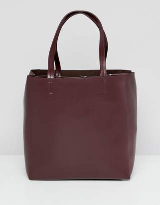 French Connection Liv Leather Tote Bag
