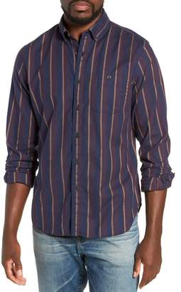 Todd Snyder Classic Fit Stripe Flannel Sport Shirt
