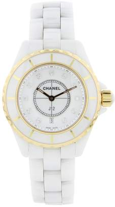 Chanel J12 Quartz ceramic watch