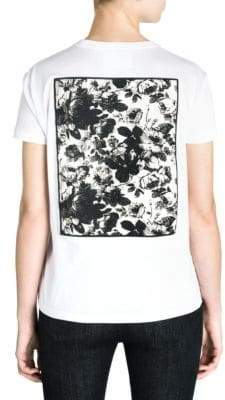 Miu Miu Graphic Back T-Shirt