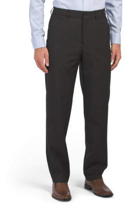 Comfort Waist Flat Front Trousers