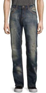 Affliction Cooper Fleur Travertine Slim Jeans