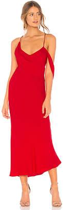 Michelle Mason x REVOLVE Draped Cowl Midi Dress