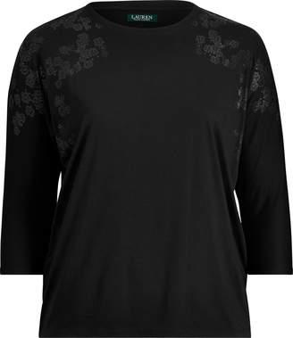Ralph Lauren Dolman-Sleeve Sweater