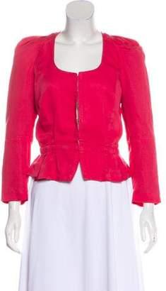 Etoile Isabel Marant Linen-Blend Lightweight Jacket