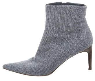 Ralph Lauren Pointed-Toe Ankle Boots