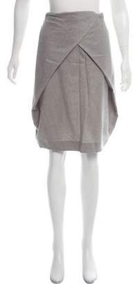 Maison Margiela Wool Pencil Skirt