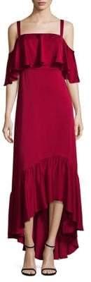 Jill Stuart Ruffle Off-the-Shoulder Dress