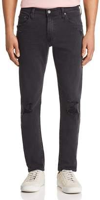 AG Jeans Tellis Slim Fit Jeans in 3 Years Black Ash