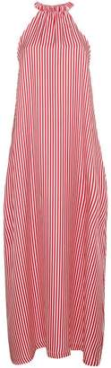 Paper London Ipanema Silk Striped Dress
