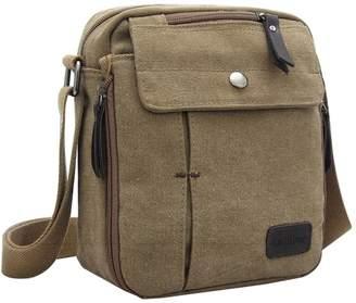 Donalworld Leisure Sall Satchel Bag Canvas Shoulder Bag Outdoor Travel Bag