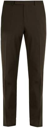 Ermenegildo Zegna Slim-leg cotton-twill chino trousers