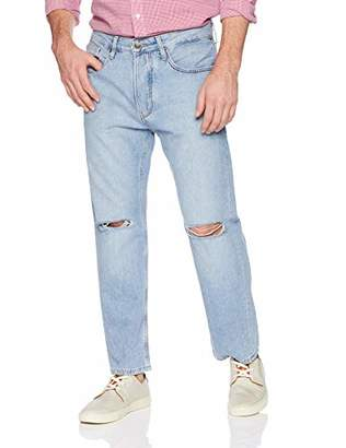Tommy Hilfiger Tommy Jeans Men's Cropped Relaxed Fit Jean