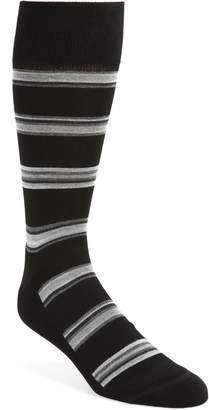 Nordstrom Alternating Rugby Stripe Socks