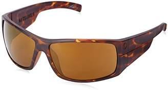 Electric Visual Mudslinger Matte Tortoise/Glass Polarized Bronze Sunglasses