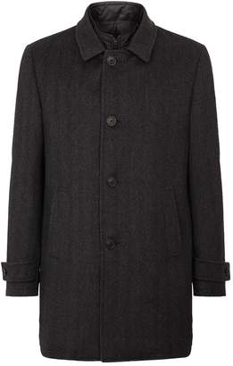Corneliani Herringbone Wool Coat