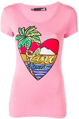 Love Moschino paradise island T-shirt