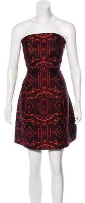 Alice + Olivia Nikki Strapless Dress w/ Tags