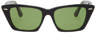 Acne Studios Black Ingridh Cat Eye Sunglasses