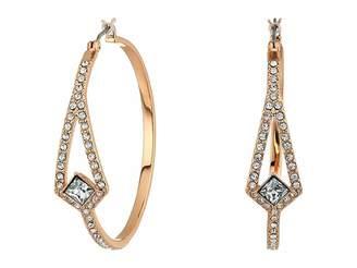 Vince Camuto Crystal Pave Hoop Earrings