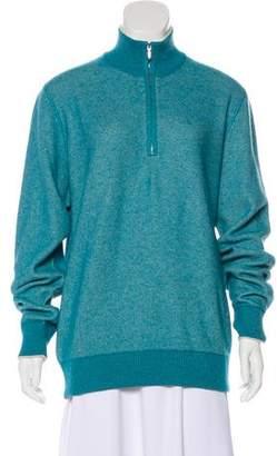 Loro Piana Silk Cashmere-Blend Sweater