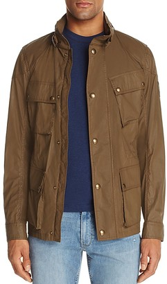 Belstaff Townmaster Hooded Field Jacket $850 thestylecure.com