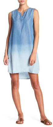 BeachLunchLounge Ombre Hi-Lo Tank Dress