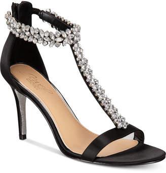 Badgley Mischka Janna Embellshed Evening Sandals