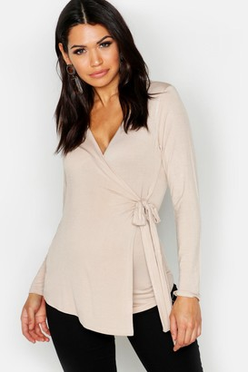 836b5ee761b86 boohoo Gray Maternity Tops - ShopStyle