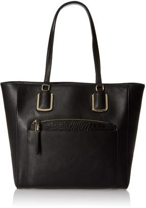 Nine West Women's Addi Tote Bag, Black/Black/Black