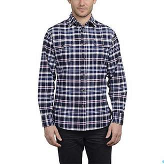Jachs New York Men's Brawny Flannel Shirt (XLT, )