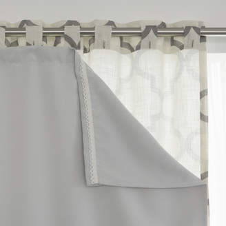 Best Home Fashion Best Home Fashion, Inc. Solid Blackout Thermal Curtain Liners (Set of 2)