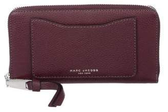 Marc Jacobs Leather Zip-Around Wallet
