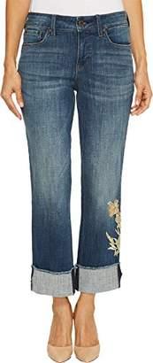 NYDJ Women's Petite Marilyn Crop Cuff Jeans