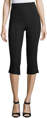 Andrew Gn Classic Cropped Stretch-Wool Pants