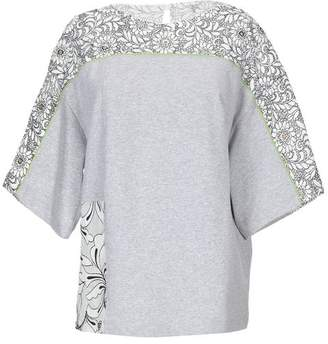 6079fd7399 Grey And Black Lace Top - ShopStyle UK
