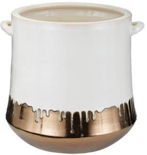 Mistana Traditional Metallic Alloy Drip Crock